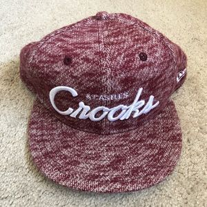 New Era Crooks & Castles Woven Fitted Cap Hat